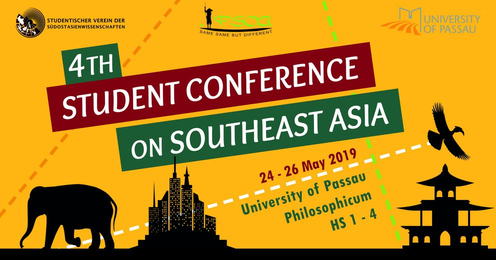 Banner of the 4th Student Conference on Southeast Asia