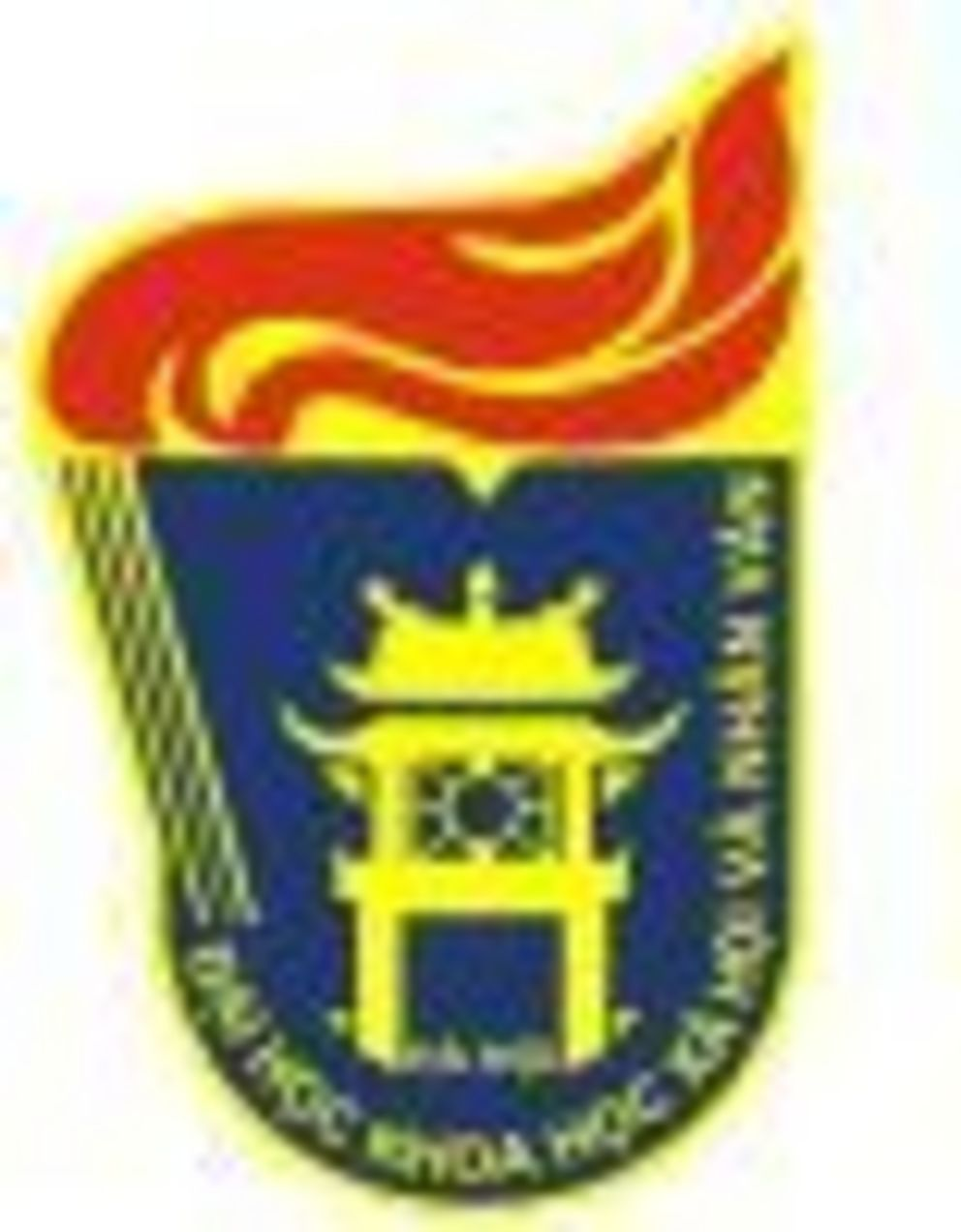 Logo der University of Social Sciences and Humanities/Vietnam National University Hanoi